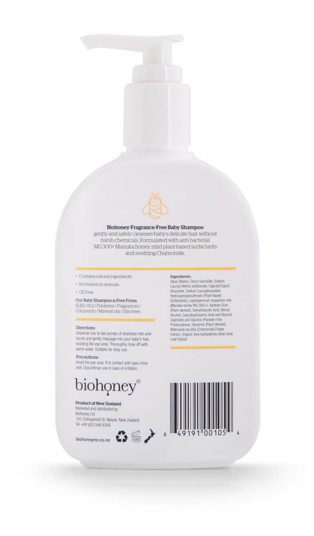 BH Baby Shampoo Back HR