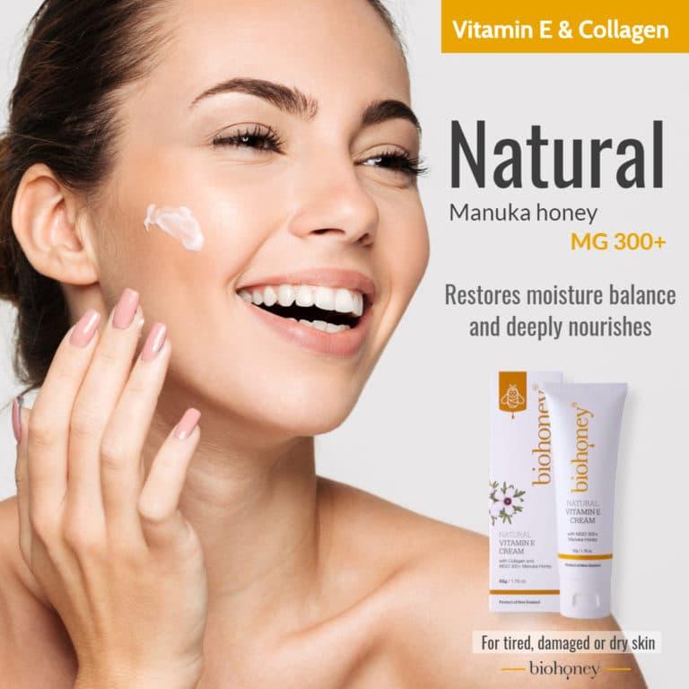 Biohoney Vitamin E Cream
